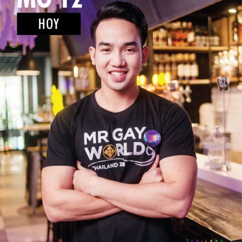 Jakkapong  Konsue Mr Gay World Thailand