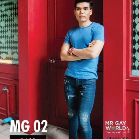 Sophon Kamic Mr Gay World Thailand